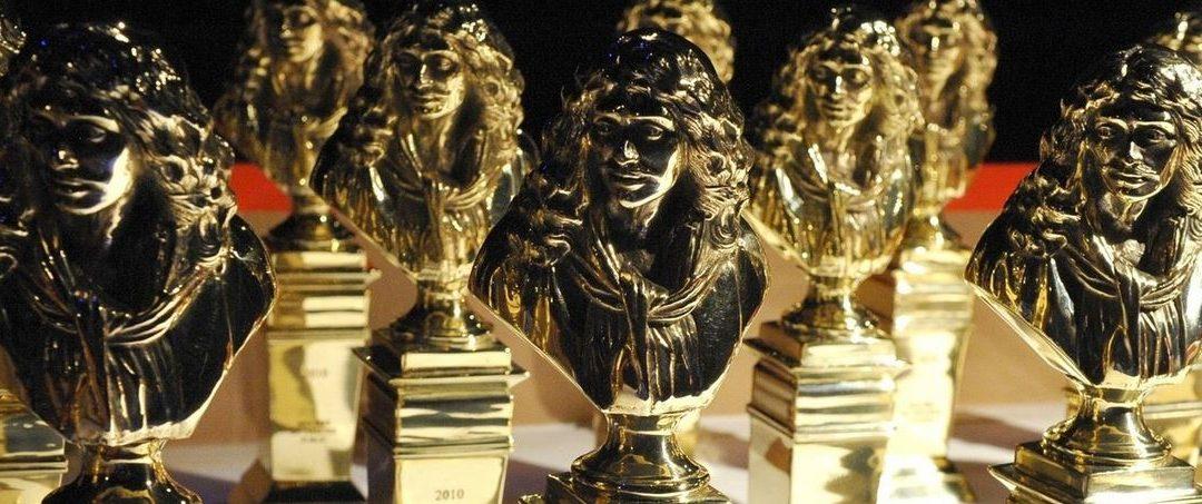 Le théâtre du Palais-Royal a la joie de vous annoncer que notre spectacle Edmond a recueilli 7 nominations aux Molières.