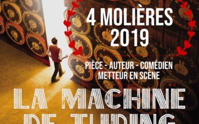 4 Molières pour la Machine de Turing !
